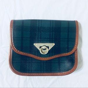 Handbags - Vintage Faux Leather Plaid Clutch Purse